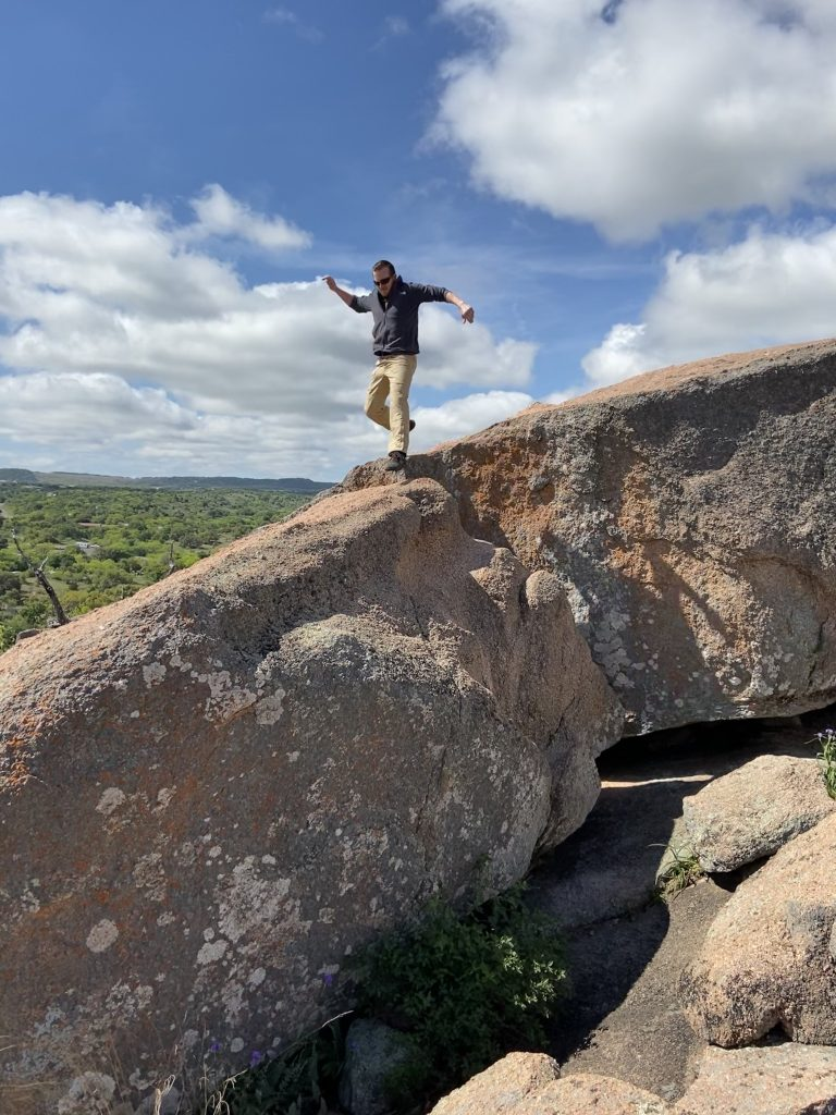Enchanted Rock State Park Hike