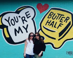 Youre My Butter Half Mural