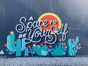 A Space to Be Yourself Mural