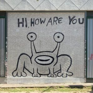 Hi How Are You Mural