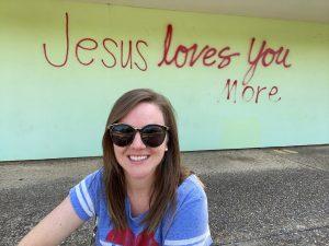 Jesus Loves You More Mural