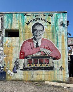 Mr. Rogers Mural