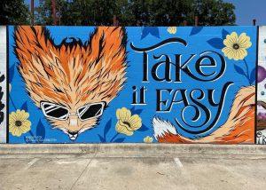 Take It Easy Mural