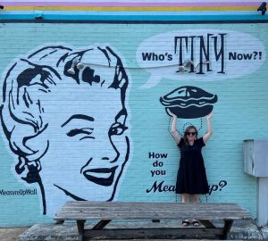 Who's Tiny Now Mural
